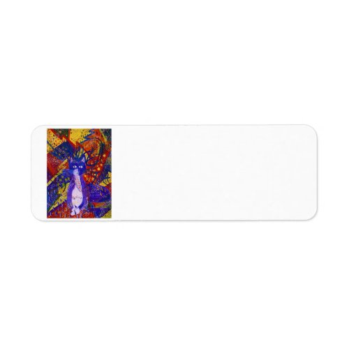 Arriving - Abstract Modern Love Party Label