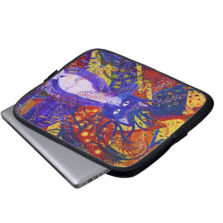 Arriving - Abstract Modern Love Party Laptop Sleeve