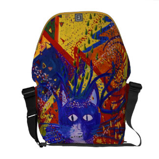 Arriving - Abstract Modern Love Party Messenger Bag