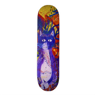 Arriving - Abstract Modern Love Party Skateboard Deck