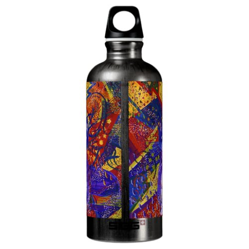 Arriving - Abstract Modern Love Party Water Bottle