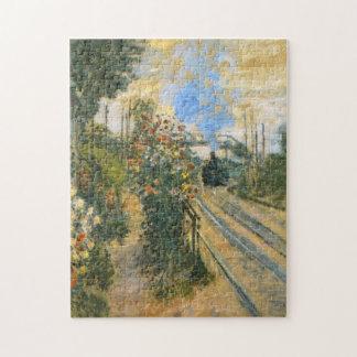 Arriving at Montegeron Monet Fine Art Jigsaw Puzzle