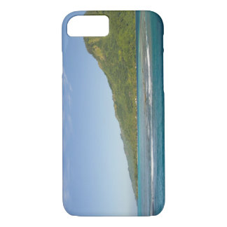 Arriving by ferry to Moorea, French Polynesia iPhone 7 Case