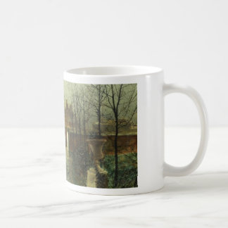 Arriving in the hall by John Atkinson Grimshaw Coffee Mug
