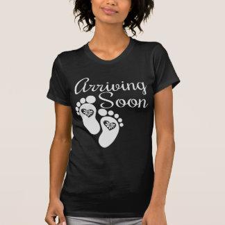 Arriving Soon Maternity Shirt
