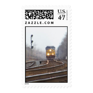 Arriving Train Postage