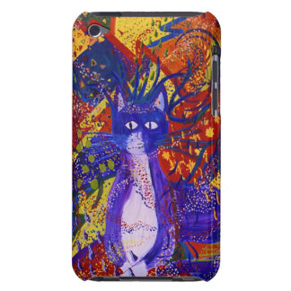 Arriving - Wild Party in Red Yellow Blue iPod Case-Mate Case