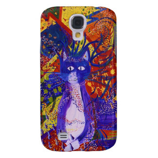 Arriving - Wild Party in Red Yellow Blue Galaxy S4 Case