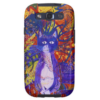 Arriving - Wild Party in Red Yellow Blue Galaxy SIII Cases