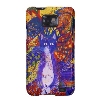 Arriving - Wild Party in Red Yellow Blue Samsung Galaxy S Case
