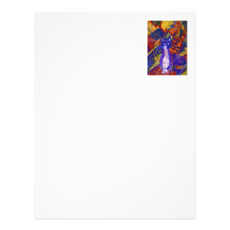 Arriving - Wild Party in Red, Yellow & Blue Letterhead