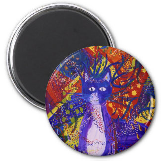 Arriving - Wild Party in Red, Yellow & Blue Magnets