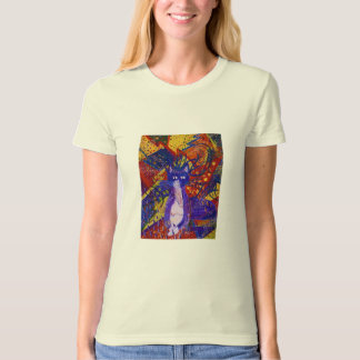 Arriving - Wild Party in Red, Yellow & Blue T-shirt