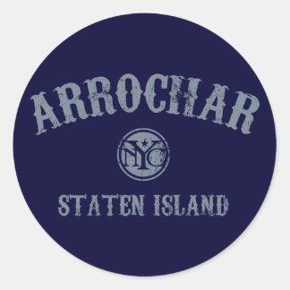 Arrochar Round Stickers