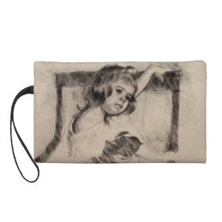 Arrodillamiento en una butaca de Mary Cassatt