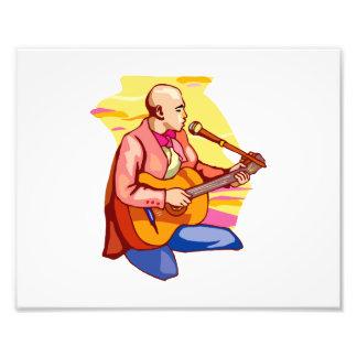 arrodillamiento singing.png calvo del guitarrista fotografia