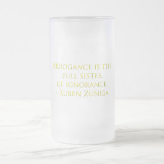 Arrogance, Designs By Che Dean Coffee Mugs