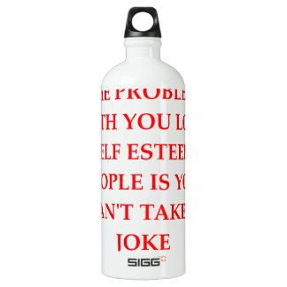 arrogant SIGG traveler 1.0L water bottle