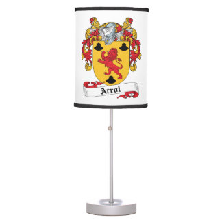 Arrol Family Crest Table Lamps