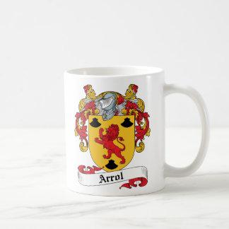 Arrol Family Crest Coffee Mugs