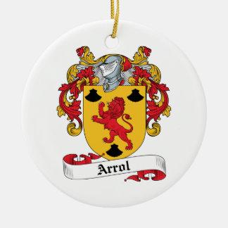 Arrol Family Crest Ornaments
