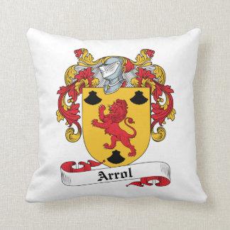 Arrol Family Crest Throw Pillows