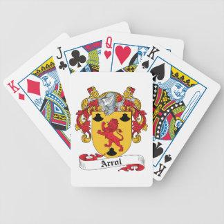 Arrol Family Crest Deck Of Cards