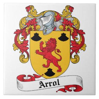 Arrol Family Crest Ceramic Tiles