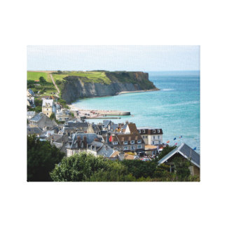 Arromanches, Normandy, France Canvas Print