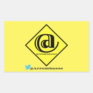 ArrombasseOficial Rectangular Sticker