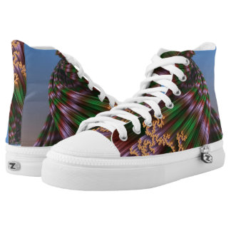 Arround the bend printed shoes