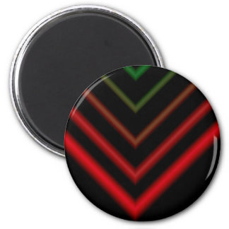 Arrow 2 Inch Round Magnet