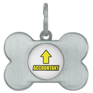Arrow Accountant Pet Tag