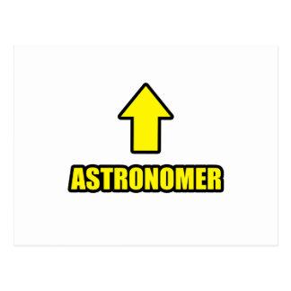 Arrow Astronomer Postcard