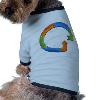 Arrow Business Process Cycle Chart Doggie Shirt