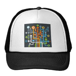 Arrow business trucker hat