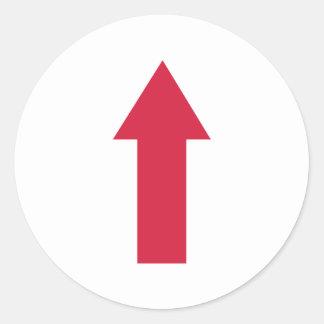 Arrow Classic Round Sticker