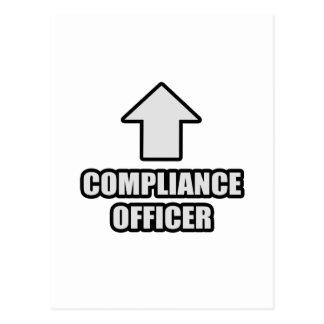 Arrow Compliance Officer Postcard
