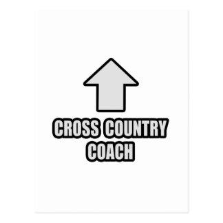 Arrow Cross Country Coach Postcard