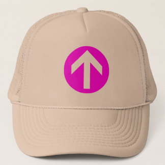 Arrow Disk Trucker Hat