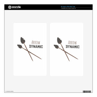 Arrow Dynamic Decals For Kindle Fire