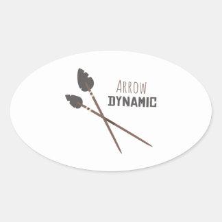 Arrow Dynamic Sticker