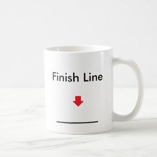 arrow fline Finish Line Coffee Mug