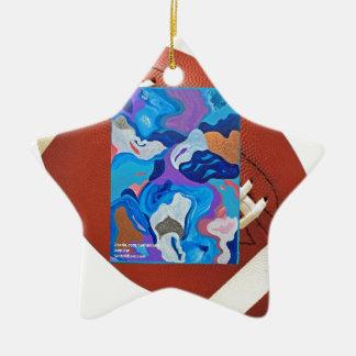 Arrow Football Ceramic Ornament