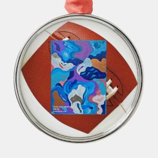 Arrow Football Metal Ornament