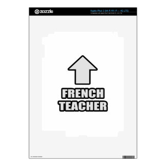 Arrow French Teacher Decals For iPad 3