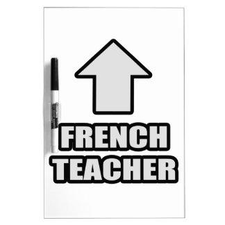 Arrow French Teacher Dry-Erase Boards