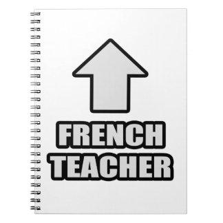 Arrow French Teacher Notebooks