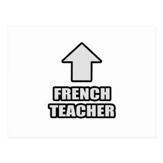 Arrow French Teacher Post Card