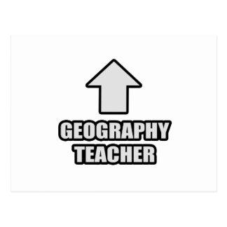 Arrow Geography Teacher Postcard